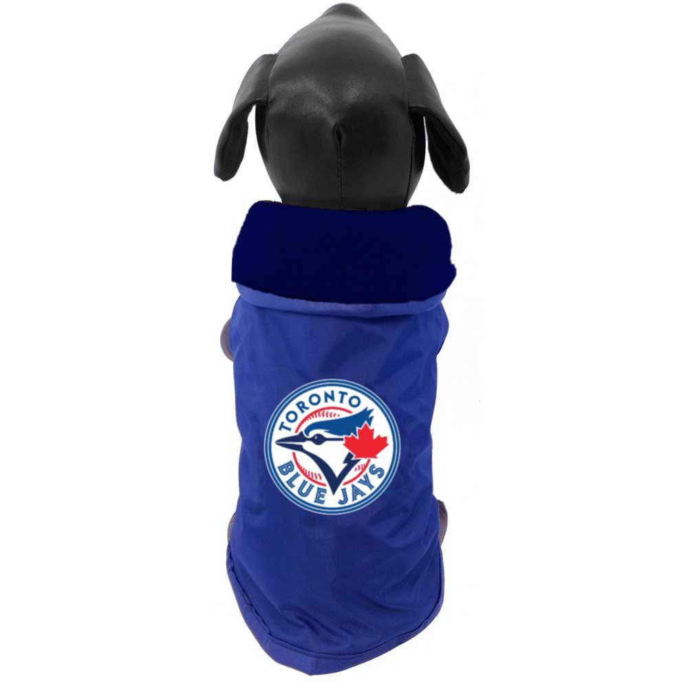 All Star Dogs Official Toronto Blue Jays Fleece Lined Coat, Small Lambert Vet Supply 693835