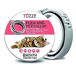 TUZZE 100% Natural Flea and Tick Cat Collar