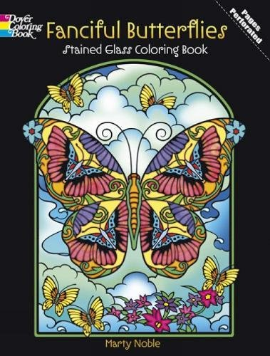 fanciful-butterflies-stained-glass-coloring-book-dover-nature-stained-glass-coloring-book