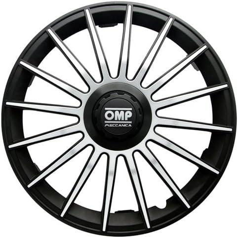 Negro//Carbono OMP OMP1315 Tapacubos Formula Set de 4 13