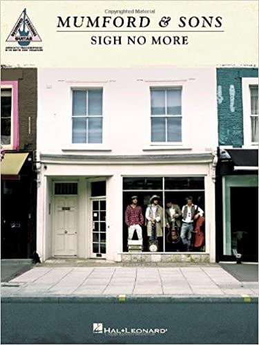 Book Mumford and Sons: Sigh No More - Guitar Recorded Versions