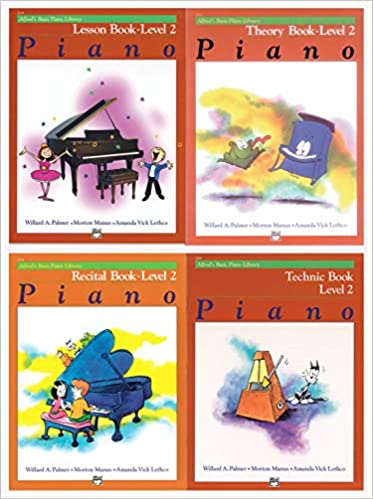 Alfred/'s Basic Piano Library Course Pack Level 2
