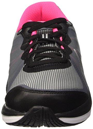 2 Fusion Running metallic Nike hyper Enfant X 001 clear gs Dual Chaussures Pink De Argent Mixte Grey black Silver w45qxtqSC