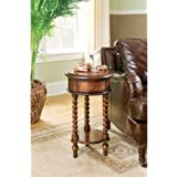 "Hooker Furniture Seven Seas 14"" Inlay Top Round Accent Table"