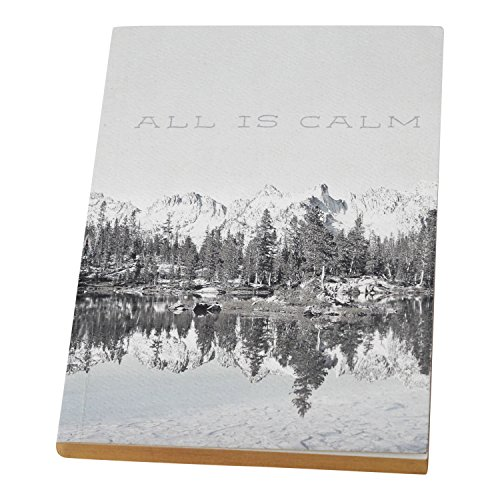 Lfp Floor Stand - FLOOR | 9 Journal with Blank Pages and Gold Edges, Cover Features Mountain Photography and