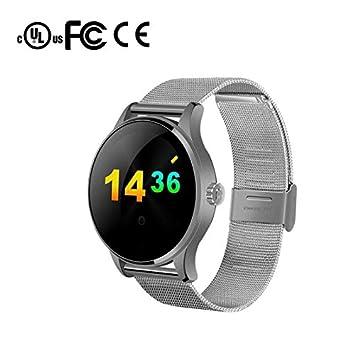 Smart Watch Reloj Inteligente Mujer Hombre Reloj Deportivo,Call Mensaje Control/Monitor de Sueño