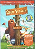 Open Season Cartoon DVD Format / English and Cantonese Audio with English and Chinese Subtitles