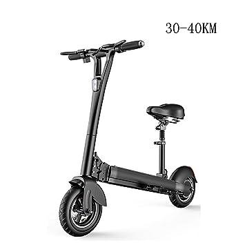 QSBY Smart Scooter eléctrico antirrobo 48V500W Potencia 8AH ...