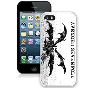 Avenged Sevenfold White Best Sale Fantastic iPhone 5S Cover Case