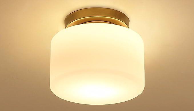 Luz LED lámpara de techo de pasillo corredor circular ...