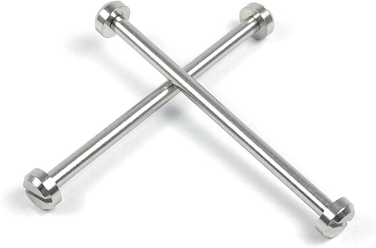 2 Stück 33 Mm Schraube Rohr Stange Für Nixon 51 30 Quqartz Watch Connect Uhrengehäuse Öse Und Band Armband Uhren