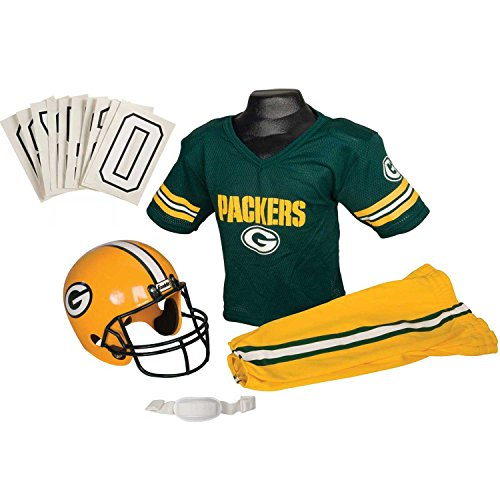 Nil Packers Childs Helmet and Uniform Set