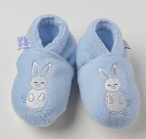 Daisy Roots–poco D de color azul bordado conejo (0–