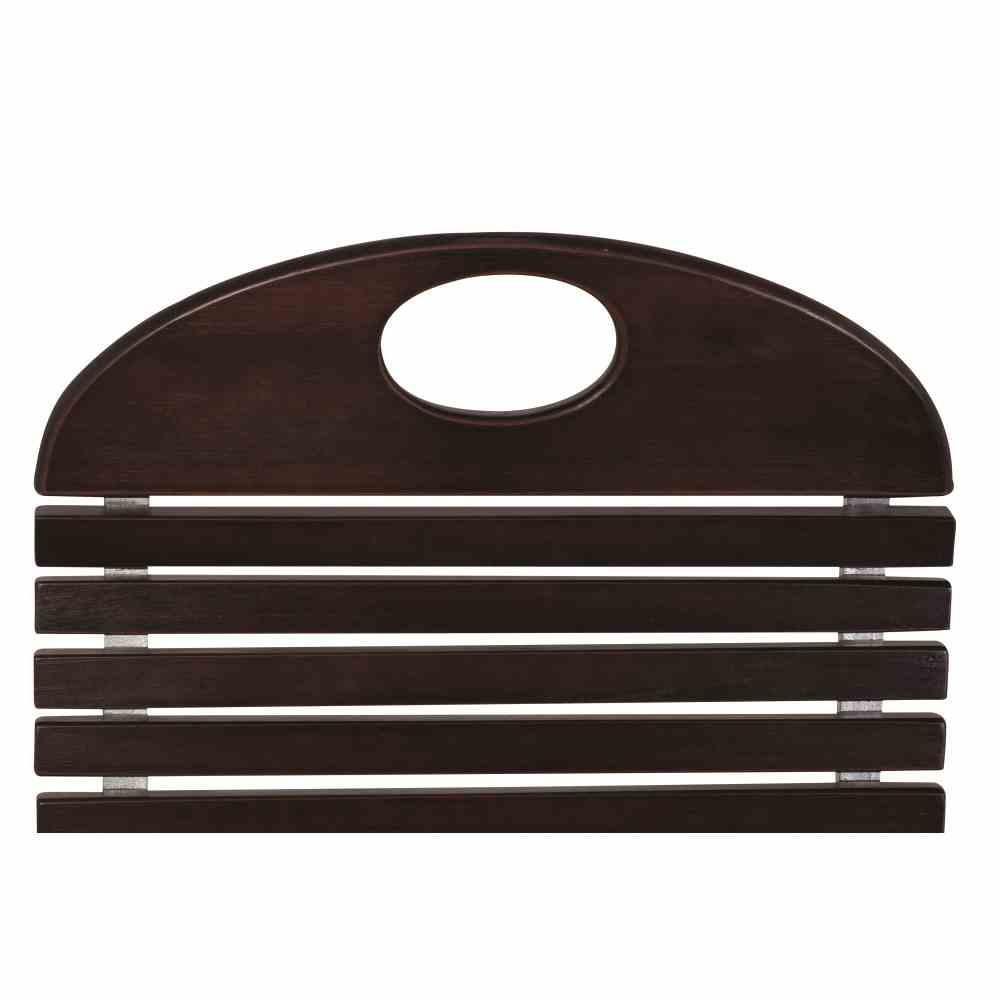 BADEN BADEN Stuhl,silber / braun Stahlgestell feuerverzinkt, Belattung Rubinie