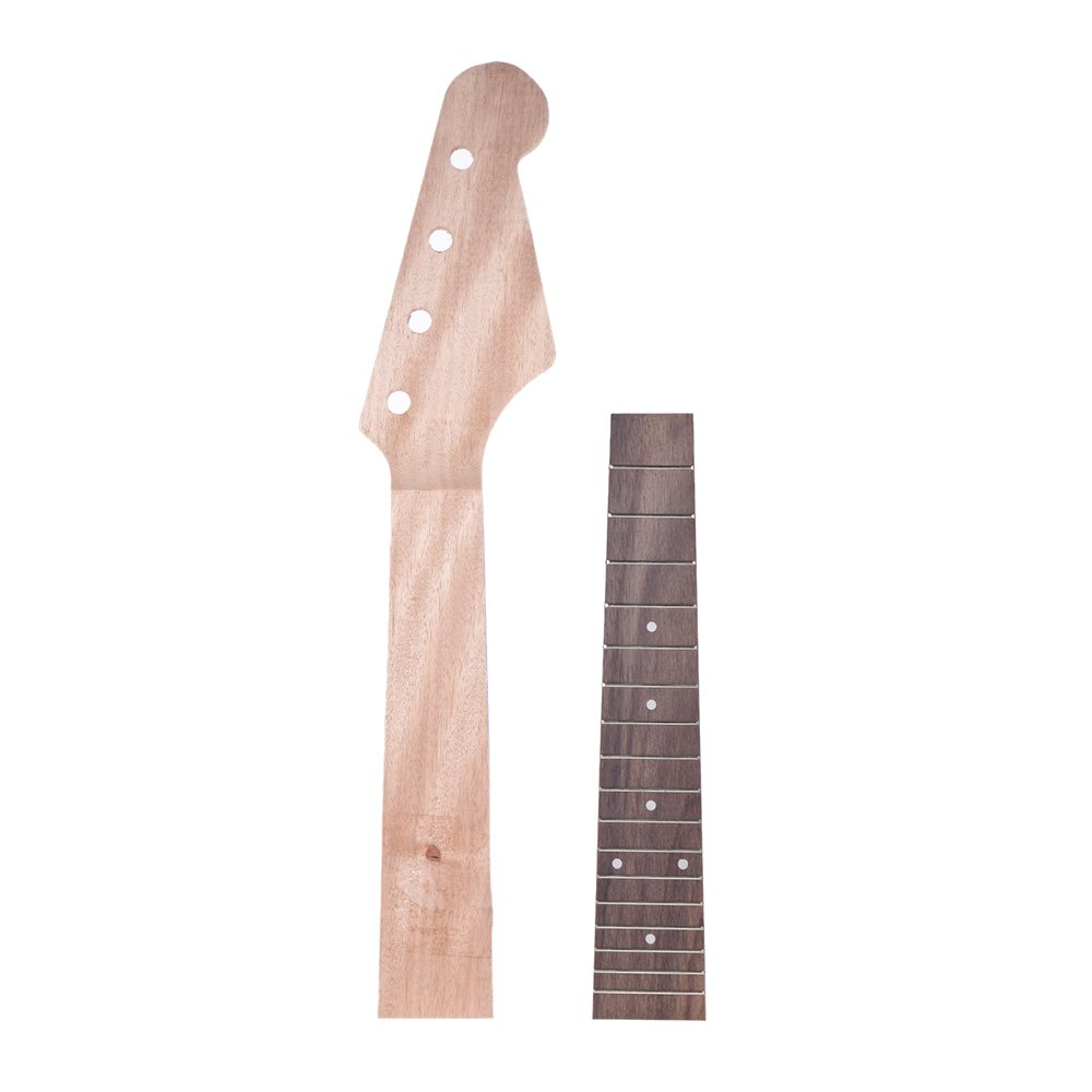 ammoon 23 Inch Concert Ukelele Maple Wood Neck & Rosewood Fretboard Fingerboard Set Hawaiian Guitar Parts 4334228831