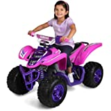 Brand New Yamaha Raptor ATV 12-Volt Battery-Powered Ride-On in Purple, Recommended for Ages 3-7yrs. Old, Battery and Charger (included), Weight Capacity130 lbs.