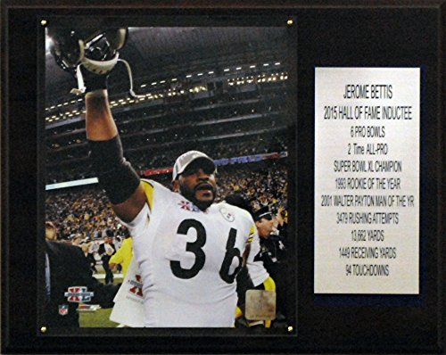 NFL Pittsburgh Steelers Jerome Bettis Pittsburgh Steelers Career Stat Plaque, 12 x ()
