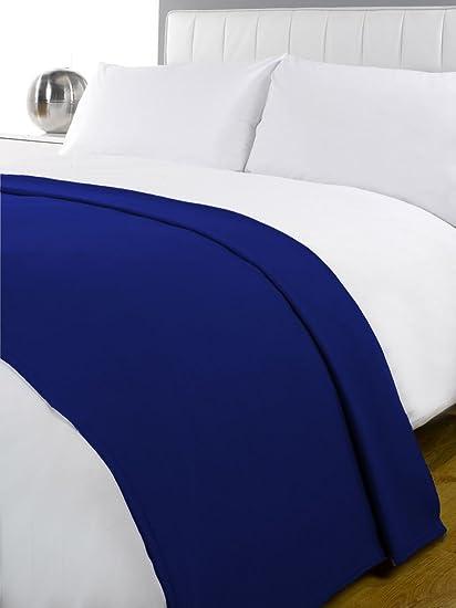 New Luxury Soft Fleece Blanket Warm Bed Sofa Throw Polar Travel 120 x 150cm