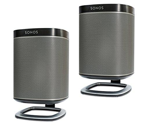 Flexson soportes de escritorio para SONOS Play: 1 altavoz inalámbrico - par (negro)