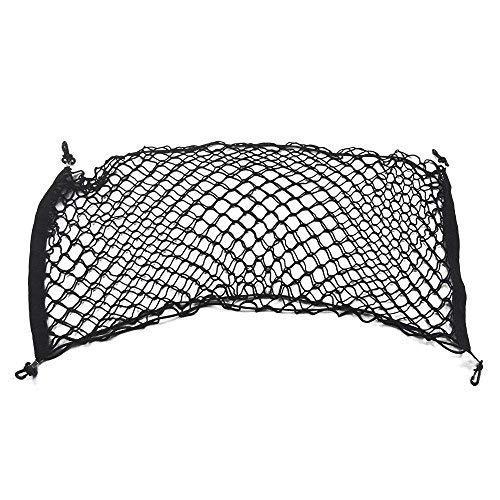 kaungka 36 X 18 4 Hooks Nylon Rear Trunk Elastic Mesh Cargo Net for Toyota Highlander Honda Pilot Ford Edge Suv