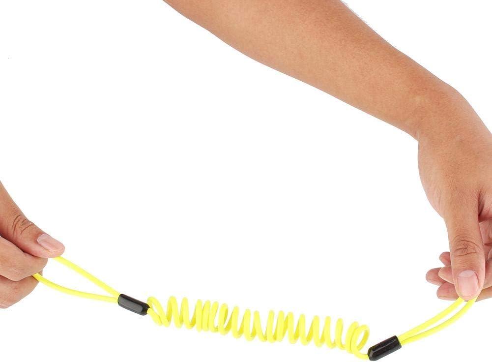 3.5 mm moto rappel de c/âble rappel c/âble alarme verrouillage s/écurit/é printemps rappel c/âble1.2m rappel de c/âble moto