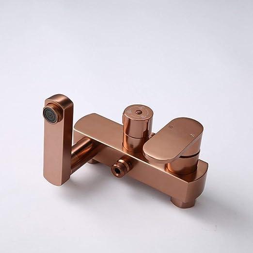 GONGFF Set de Ducha Yn/Panel de Ducha de Aluminio Space/Mampara de Ducha multifunción/Ducha con mampara de Ducha/Ducha de Lluvia para baño: Amazon.es: Hogar