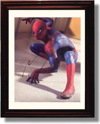 Framed Andrew Garfield Autograph Replica Print - Spiderman 2