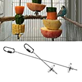 Bird Fruit Vegetable Holder Stainless Steel