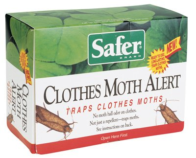 Safer Clothes Moth Trap Boxed by Safer Brand