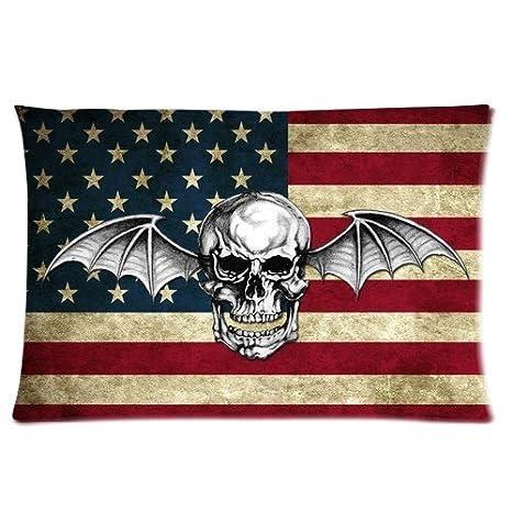 Amazon.com: Generic Avenged Sevenfold de banda Cráneo ...
