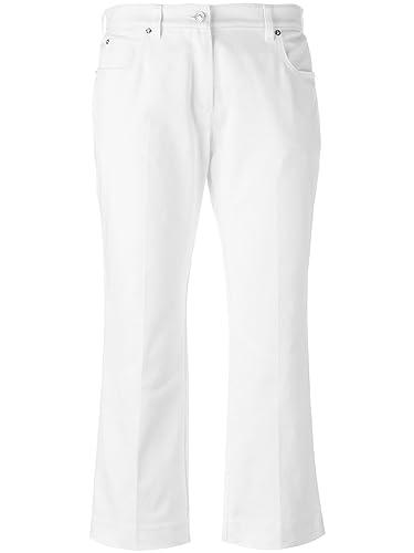 Kenzo Mujer F752PA2496EH01 Blanco Algodon Pantalón