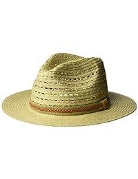 Bailey of Hollywood Mens Garrell Braided Drop Brim Fedora Hat Fedora