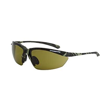 Amazon.com: Crossfire Eyewear 91721 Sniper Safety Glasses with ...