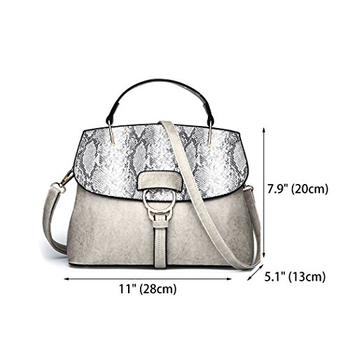 And Shoulder Woman Bags Clutches Handbags Bags Shoppers Gray Shoulder And SqwwH4
