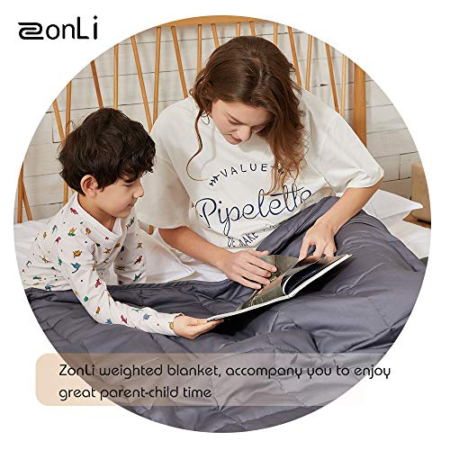 ZonLi Cool Weighted Blanket 60x80 Bed Blankets