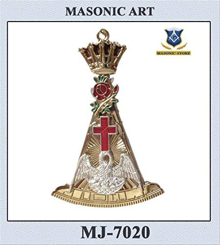 Masonic Rose Croix 18th degree collar jewel - very high - Collar Standard Jewel