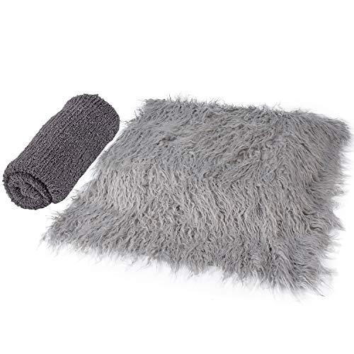 6092ee76d61 Aniwon 2Pcs Baby Photo Props Long Ripple Wraps DIY Blanket - Import It All