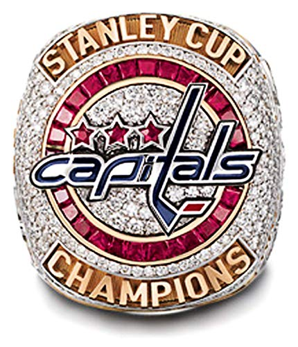 RongJ- store 2018 Capitals Stanley Cup Replica Hockey Champion Ring