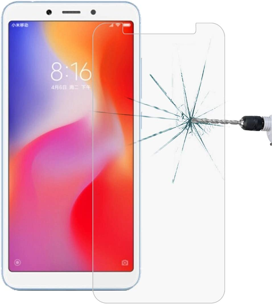 No Retail Package GzPuluz Glass Screen Protector 50 PCS Non-Full Matte Frosted Tempered Glass Film for Xiaomi Mi 6X A2