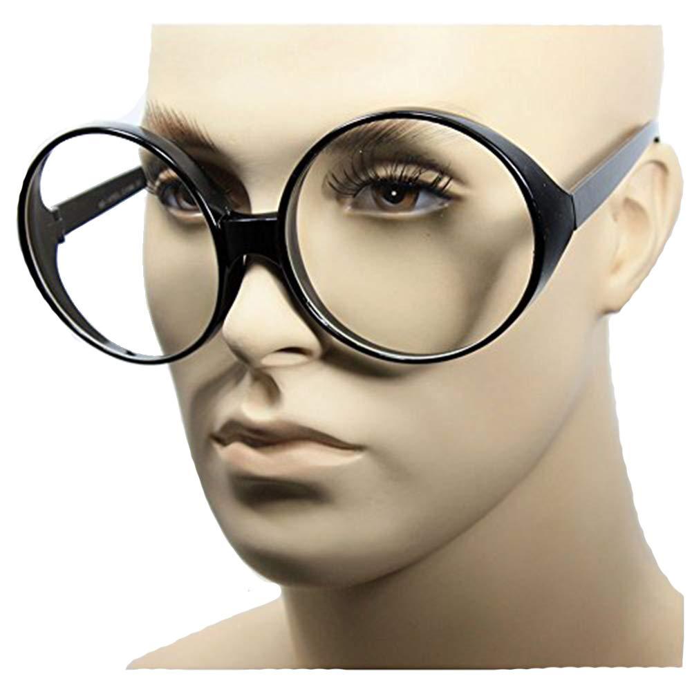 Amazon.com: anteojos diadema negro mujer Vintage Oval enorme ...