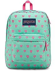 JanSport Superbreak Backpack - Cascade Bleeding Hearts - Classic, Ultralight
