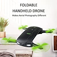 Rc Fpv Mini Quadcopter Drone With 480P Hd Camera DHD D5 Altitude Hold WIFI Mobile Phone Control Folding WiFi Control Headless Quadcopter