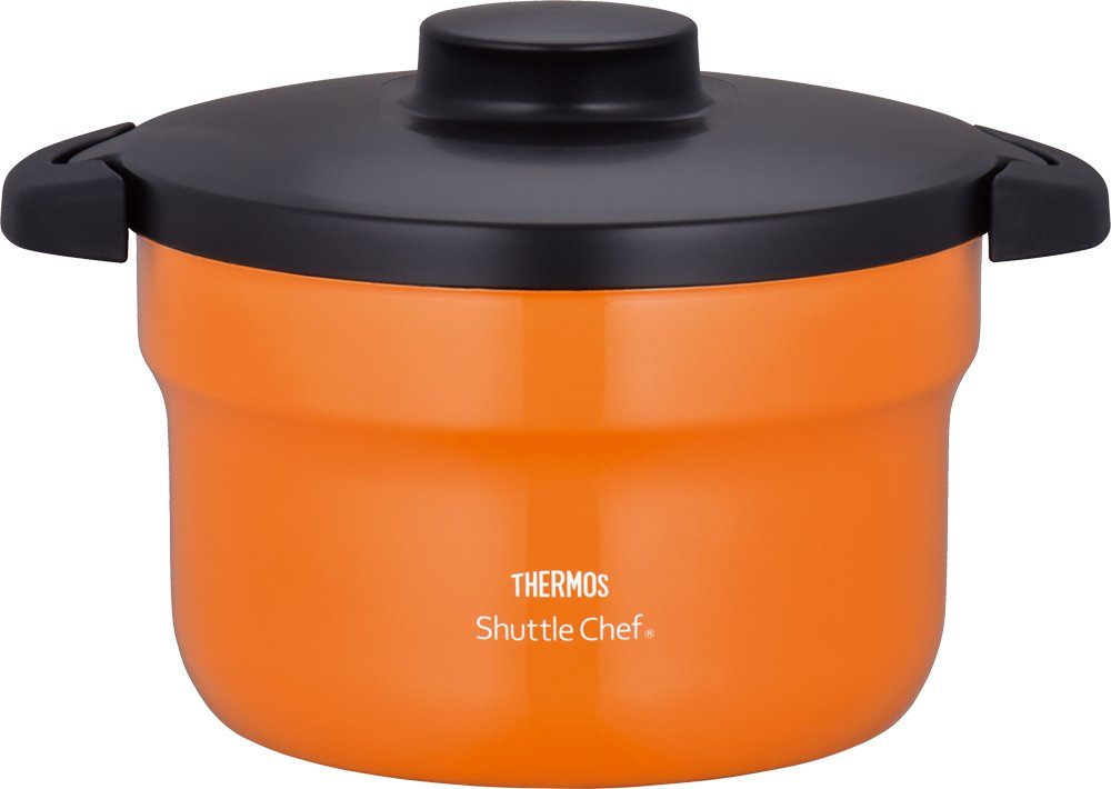 "THERMOS Vacuum Warm Cooker ""Shuttle Chef"" KBJ-3000 OR (Orange)【Japan Domestic genuine products】"