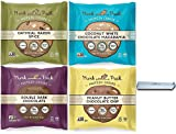 Munk Pack Protein Cookie Variety 2.96 oz - All 4 Flavors 1 of each (4 Pack) | Comes with Clip