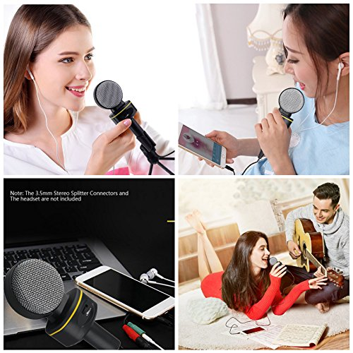 Jeystar SF-930 Professional Condenser Sound Microphone With Stand for PC Laptop Skype Recording by Jeystar (Image #9)
