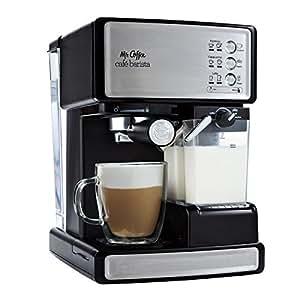 Mr. Coffee ECMP1000 Café Barista Premium Espresso/Cappuccino System, Silver