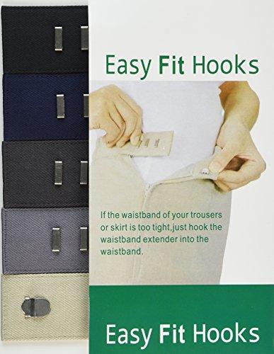 Easy Fit Hooks Waist Extenders by PPR MARKETING