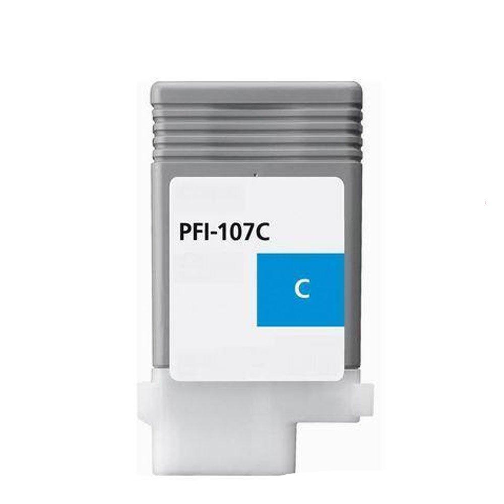 lic-store 1 xシアン- 107 C pfi-107互換インクカートリッジ交換Canon pfi-107 ( 130ml ) – ipf670 ipf680 ipf685 ipf770 ipf780 ipf785プリンタ B078GJYN2N