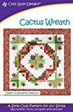 Cactus Wreath Quilt Pattern by Georgette Dell'Orco