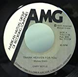 Gary Boyle Thank Heaven For You / I owe It All To You 45 rpm single